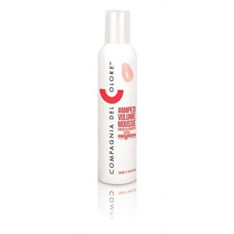 Plaukų apimtį didinančios putos Compagnia del Colore AMPED VOLUME MOUSSE 250ml