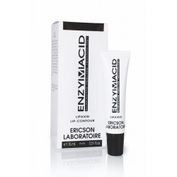 Priešraukšlinis kremas lūpų kontūrui Ericson Laboratoire Enzymacid Lipaxid 15ml