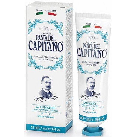Dantų pasta rūkantiems Pasta Del Capitano 1905 Smokers