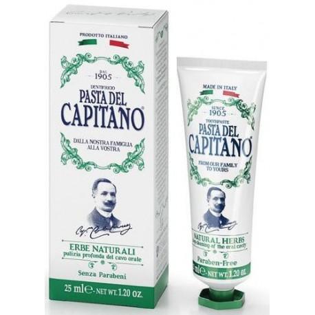 Dantų pasta su natūraliomis žolelėmis Pasta Del Capitano 1905 Natural Herbs