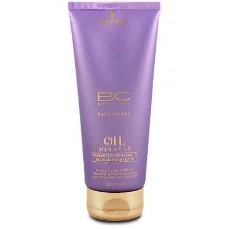 Atstatomasis šampūnas su figų aliejumi ir keratinu Schwarzkopf Professional Restorative Shampoo