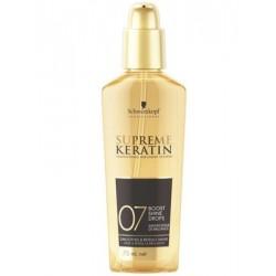 Apimties ir spindesio suteikianti priemonė plaukams Schwarzkopf Professional Supreme Keratin 75ml