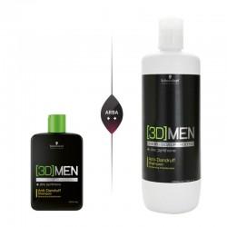 Šampūnas nuo pleiskanų vyrams Schwarzkopf Professional [3D]MEN Anti-dandruff