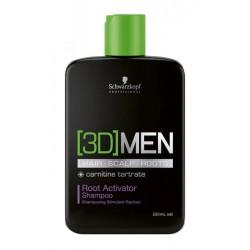 Plaukų augimą skatinantis šampūnas vyrams Schwarzkopf Professional [3D]MEN Activating