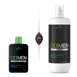 Gilaus valymo šampūnas vyrams Schwarzkopf Professional [3D]MEN Deep Cleansing