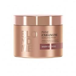 Karamelinį plaukų atspalvį paryškinanti kaukė Schwarzkopf Professional Blond Me Caramel 200ml