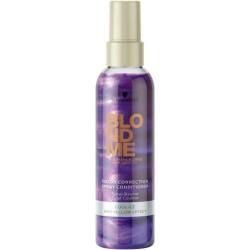 Šaltą atspalvį paryškinantis purškiamas šviesių plaukų kondicionierius Schwarzkopf Professional Blond Me Cool 150ml