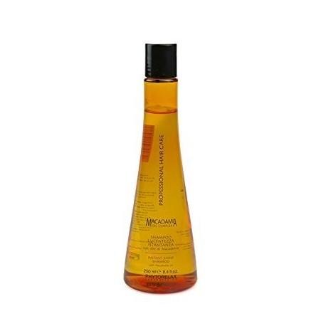 Žvilgeso plaukams suteikiantis šampūnas su makadamijos aliejumi Harbor