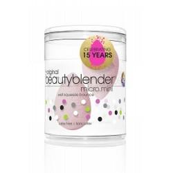 Originalios Micro mini pastelinės rožinės  BeautyBlender makiažo kempinėlės
