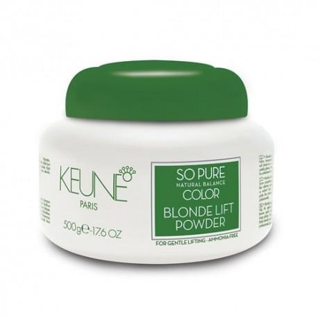 Šviesinimo milteliai Keune So Pure Blonde Lift Powder 500g