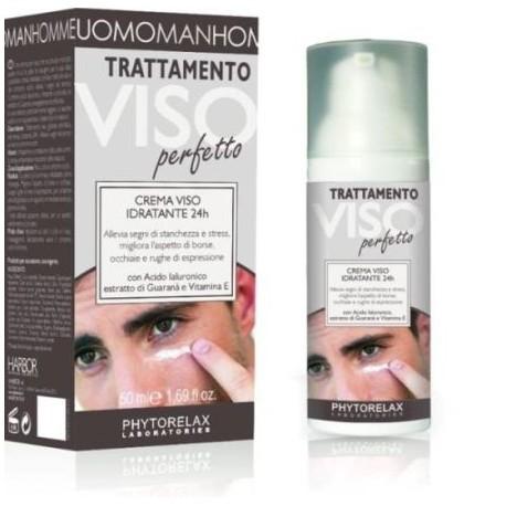 Drėkinantis veido kremas vyrams Harbor Phytorelax Uomo Hydrating Face Cream 50ml