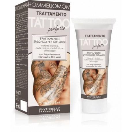 Tatuiruotos odos priežiūros kremas Harbor Phytorelax Uomo Tattoo Treatment Body Emulsion 75ml