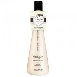 Kreminė dušo želė su vanilės ekstraktu Phytorelax Vaniglia Shower Gel 250ml