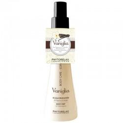 Purškiamas kūno drėkiklis su vanilės ekstraktu Phytorelax Vaniglia Body Mist 150ml