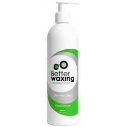 Atkeliantis plaukelius gelis prieš depiliaciją Better Waxing Technology 400ml