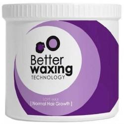 Vandenyje tirpus vaškas depiliacijai su popierėliais  Better Waxing Technology 425g