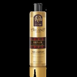 La Croa repair šampūnas pažeistiems, dažytiems ir chemiškai paveiktiems plaukams 300ml