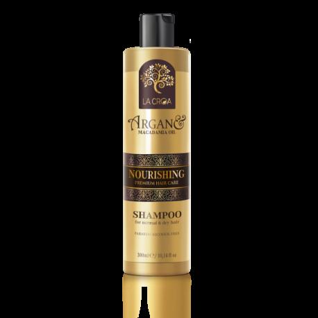 La Croa Nourishing intensyviai maitinantis šampūnas normaliems ir sausiems plaukams 300ml