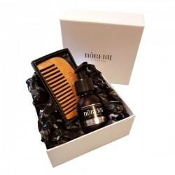 Noberu dovanų rinkinys barzdos priežiūrai iš AMBER-LIME 1vnt.
