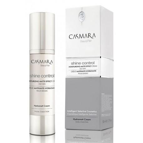 Drėkinamasis veido odos kremas suteikia matinę išvaizdą, skirtas riebiai odai Casmara Matte Effect Cream 50 ml