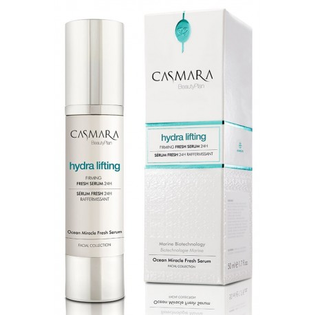 Stangrinamasis veido serumas Casmara Hydra Lifting Firming Fresh Serum 50 ml.