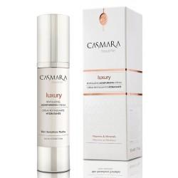 Prabangus, drėkinamasis veido kremas su Goji uogu ekstraktu, Casmara Luxury Revitalizing Moisturizing Cream  50 ml.