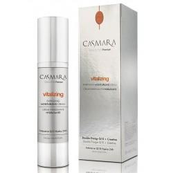 Energizuojantis, drėkinamasis veido odos kremas Casmara Vitalizing Energizing Moisturizing Cream, 50 ml