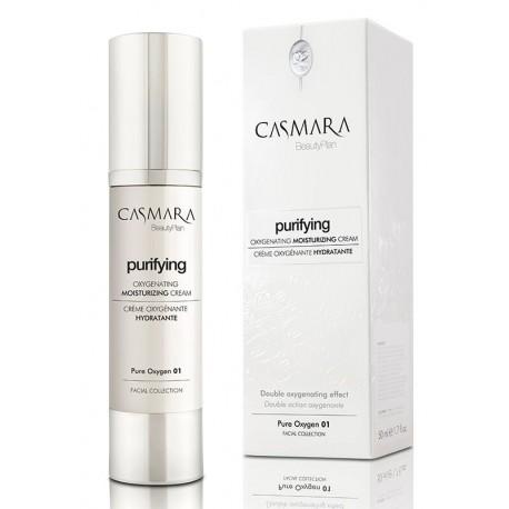 Drėkinamasis veido kremas Casmara Purifying Pure Oxygen 01, 50 ml