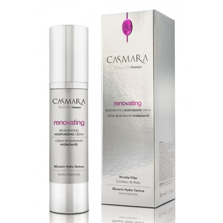 Atkuriamasis, drėkinamasis kremasnuo raukšlių, Casmara Renovating Regenerating Moisturizing Cream, 50 ml.