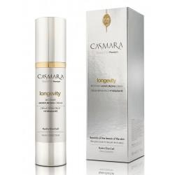 Atkuriamasis, drėkinamasis veido odos kremas Casmara Longevity Recovery Moisturizing Cream, 50 ml