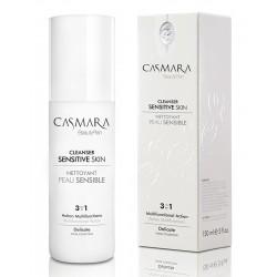 Prausiklis jautriai veido odai Casmara Cleanser Sensitive Skin 3 in 1, 150 ml