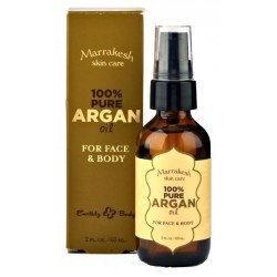 Kūno odos aliejus Marrakesh Skin Care 100% Pure Argan Oil For Face & Body, 60 ml.