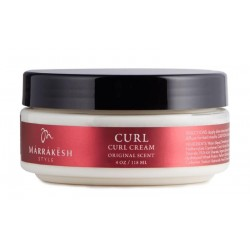 Garbanų formavimo kremas Marrakesh Style Curl Cream Original Scent, 118 ml.