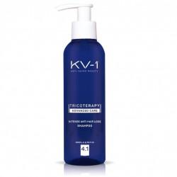 Šampūnas intensyviam plaukų slinkimui KV-1 INTENSE ANTI HAIR SHAMPOO 4.1 200 ml