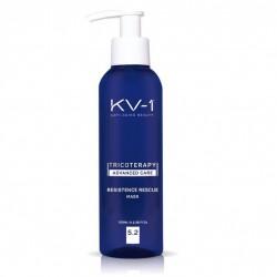 Kaukė intensyviam gydymui nuo plaukų slinkimo KV-1 RESISTENCE DEEP MASK 5.2 100 ml