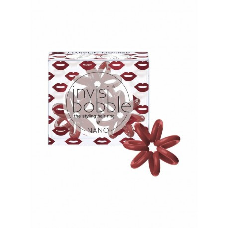 Plaukų gumytės Invisibobble Beauty Collection NANO Marilyn Monred 3vnt