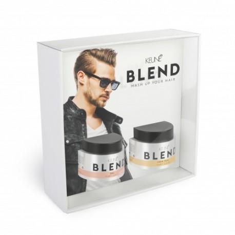 Rinkinys plaukų formavimui KEUNE BLEND (ŽELĖ + PASTA)