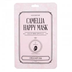 Efektyviai drėkinanti lakštinė veido kaukė Kocostar Happy Mask