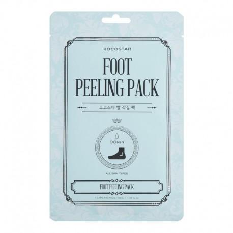 Šveičiamojo bei minkštinančio poveikio kojinės sausoms pėdoms Kocostar Foot Peeling Pack