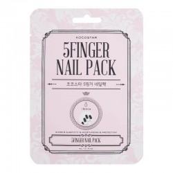 Raminanti priemonė apsauganti ir atstatanti pažeistus nagus Kocostar 5 Finger Nails Pack