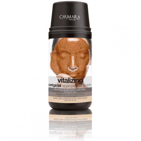 Skaistinanti ir stabdanti odos senėjimo procesus alginatinė veido kaukė Casmara Vitalizing Algea Peel Off Mask Kit