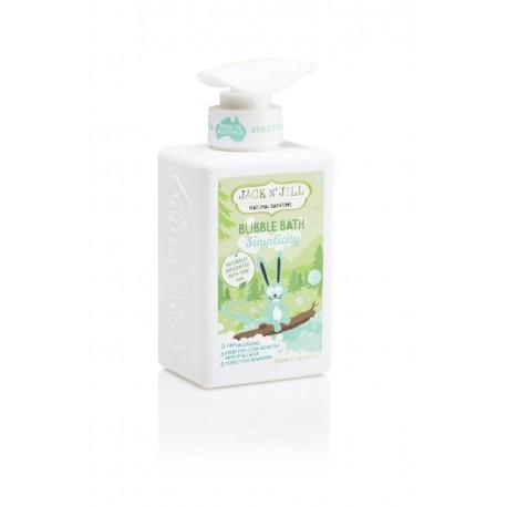 Hipoalerginės vonios putos itin jautriai odai su bolivinių balandų ekstraktu JACKN'JILL Simplicity 300 ml