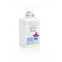 Hipoalerginis raminantis prausiklis ir šampūnas su baltojo kipariso ir levandų aliejaus ekstraktais JACKN'JILL Serenity 300 ml