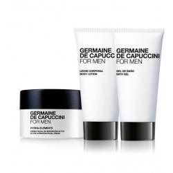 Veido priežiūros normalios/sausos odos drėkinimo rinkinys vyrams  Germaine De Capuccini FOR MEN HYDRATION
