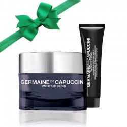 Veido priežiūros rinkinys Germaine de Capuccini TIMEXPERT SRNS MERRY GREEN CHRISTMAS