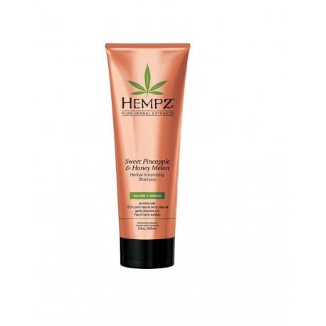 Apimties suteikiantis šampūnas Hempz Sweet Pineapple@Honey Melon Volumizing Shampoo 266ml