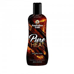 Kremas deginimuisi soliariume su dilgčiukais AUSTRALIAN GOLD Pure Heat™ Hot Citrus Tingle 250ml