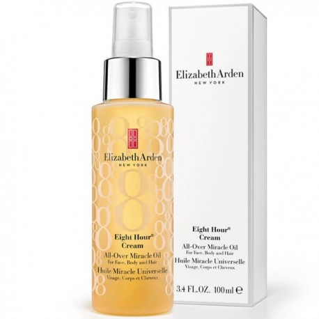 Purškiamas aliejus veidui/kūnui/plaukams Elizabeth Arden Eight Hour Cream All-Over Miracle Oil 100ml