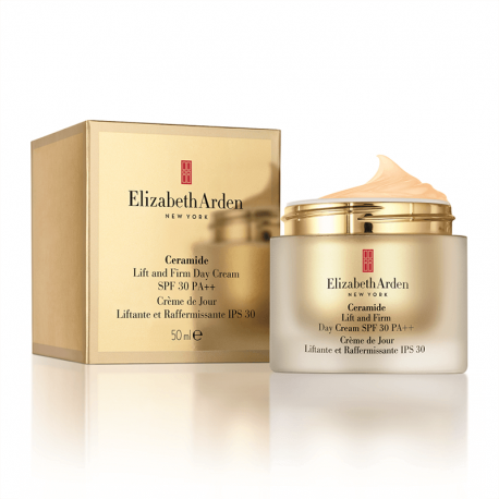 Stangrinamasis veido kremas Elizabeth Arden Ceramide Lift and Firm Day Cream SPF 30 50ml