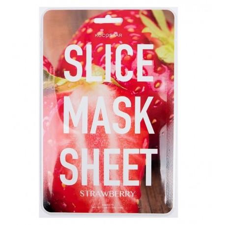 Lakštinės veido kaukės Kocostar Slice Mask Sheet